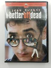 New listing Better Off Dead - John Cusack Dvd