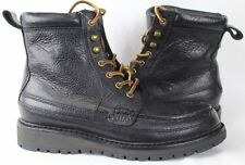 POLO Ralph Lauren Willingcott Leather Boots Black NWT