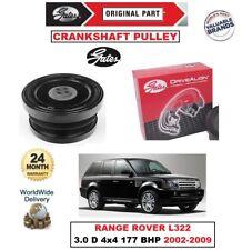 Gates Kurbelwelle Riemenscheibe für Range Rover L322 3.0 TD6 4x4 177 BHP