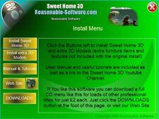 3D Home interor Design kitchen planner bathroom Design Software Floor windows