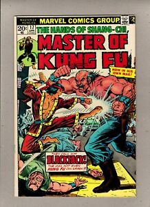 THE HANDS OF SHANG-CHI, MASTER OF KUNG FU #17_APRIL 1974_VERY FINE_BRONZE AGE!