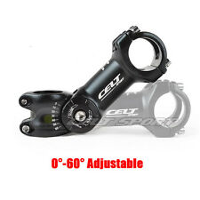 Pro 31.8mm 0~60 Degree Adjustable MTB Bicycle Bike Bicycle Handlebar Stem 110mm