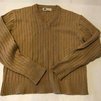 Vintage Sears Men's Store Kings Road Men's Pullover Sweater Med. Brown  EUC