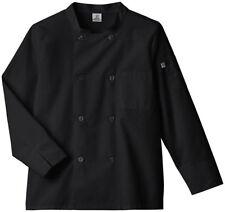Five Star Adult Unisex Long Sleeve Moisture Wicking Mesh Back Chef Coat. 18017