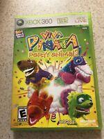 Viva Pinata: Party Animals (Microsoft Xbox 360, 2007) TESTED Game & Manual