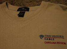 TIME WARNER CABLE TV North South Carolina Region Sweater Shirt Large