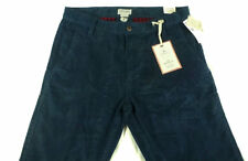 $68 Mens Levis DOCKERS Corduroy Slim Tapered Chino Pants 32 x 34 BLUE NAVY