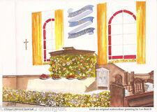Postcard: Les Bott - Chapel Harvest Festival (Pilkington Family Trust)
