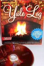 Drew's Famous Yule Log NEW BLURAY Fireplace CHRISTMAS MUSIC HD KIDS JAZZ CLASSIC