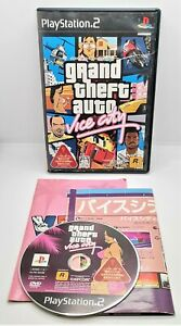 CAPCOM Grand Theft Auto Vice City for Sony PlayStation PS2 JAPANESE TESTED 65488