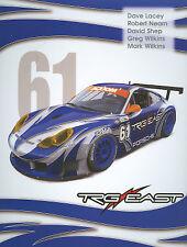2005 Trg East Racing #61 Porsche 996 Gt3 Rolex 24 Grand Am postcard