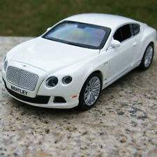 Bentley GT W12 Alloy Diecast 1:32 Car Model Sound&Light White Collection&Gifts