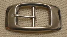 Cintura fibbia doppia fibbia per cinture larghezza 3cm metallo colore: ARGENTO eleganza