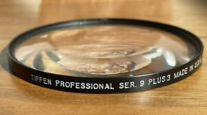 Tiffen Series 9 +3 Diopter With Case.