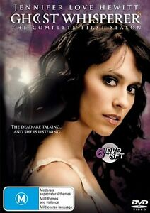 Ghost Whisperer Complete First Season 1 * PAL 4 * FREE TRACKED POSTAGE Drama