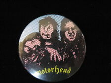 Motorhead-Cartoon Characters-Heavy Metal-Pin Badge Button-80's Vintage-Rare