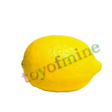 Plastique mini citron jaune faux artificielle Fruit House Party cuisine décor