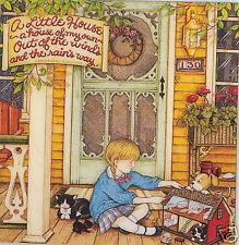 A House Of My Own-Handcrafted Dollhouse Fridge Magnet-w/Mary Engelbreit art