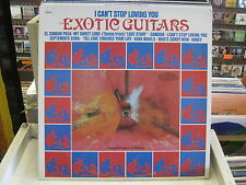Exotic Guitars I Can't Stop Loving You vinyl LP Ranwood Records Bill Justis EX