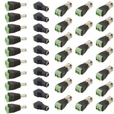 10 Sets CAT5 TO BNC Passive Video and Power Balun Transceiver for CCTV Cameras