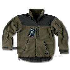 Men's Funnel Neck Fleece Waist Length Zip Coats & Jackets