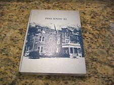 1983 Atlantic Christian College Pine Knot  Wilson North Carolina Yearbook Annual