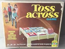 NIB New factory Sealed Vintage 1969 Ideal Toss Across Game VERY RARE *SEE PICS*