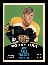 1970-71 O-Pee-Chee #249 Bobby Orr Ross Trophy EX+ X1289634
