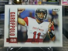2014 SAGE Hit JIMMY GAROPPOLO rookie Card -patriots, 49ers QB