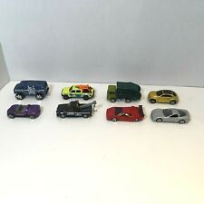 Matchbox and Maisto (Lamborghini, etc) Diecast Lot of 8 1:64 cars and trucks