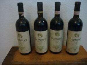 1986er Barbaresco Riserva Franco Fiorina 75cl, 4x Flasche