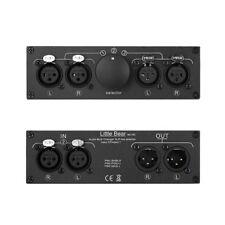 Little Bear MC103 balanced XLR 3-IN-1-OUT Audio Splitter Switcher selector box