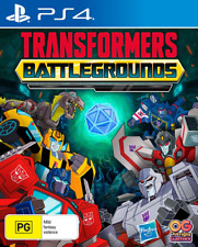 Transformers Battlegrounds PS4 Game NEW