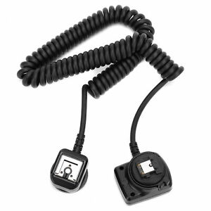 Meike MK‑FA02 Camera Flash Sync Cable Hot Shoe Synchro Cord for Sony Flashlight