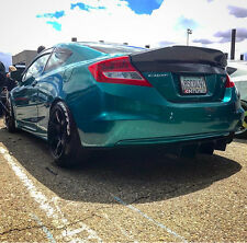 KevMannz: Full Carbon Fiber Rear Duck Bill Trunk Spoiler Civic Coupe  2012 2013