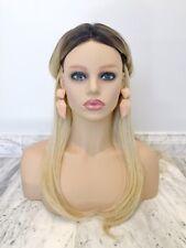 Oversize Large Godess Peach Gold Art Deck Bohemian Fashion Statement Earrings