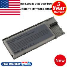 Battery for Dell Latitude D620 D630 D631 D640 Pc764 Tc030 M2300 Laptop Notebook