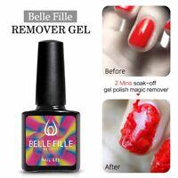 BELLE FILLE Burst Magic Nail Gel Remover UV Gel Polish Clean Degreaser Nail Art