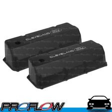 PROFLOW Ford Cleveland 302 351C Tall Black Cast Valve Covers