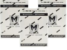 PANINI META X (MetaX) JUSTICE LEAGUE 24 PACK BOOSTER LOT OF 3 BOXES!
