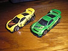 Vintage Lot of 2 Different Hot Wheels Ms-T Suzuka Modified Street Racers