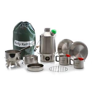 Kelly Kettle Ultimate Stainless Steel Medium Scout Kit