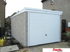 PREFAB GARAGES & BUILDINGS PVC Pent 8ft6in x 16ft3in