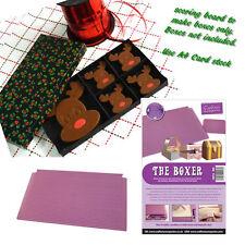 Crafters Companion BOXER Scoring Board Box Making Tool Chocolate Gift Boxes Card