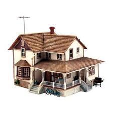 NEW Woodland Scenics Corner Porch House HO PF5196