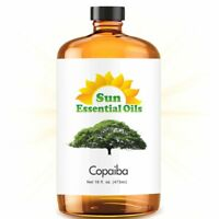 Best Copaiba Essential Oil 100% Purely Natural Therapeutic Grade 16oz