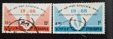 ETHIOPIË / ÄTHIOPIEN 1968 Mi.Nr. 584-85