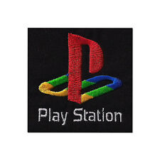 """Sony Playstation Logo Badge Embroidered Patch 3"""""""