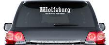 WOLFSBURG You'll never walk alone - Aufkleber - ca. 60 cm lang - TOP