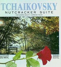 TCHAIKOVSKY: NUTCRACKER & SLEEPING BEAUTY SUITES, CAPRICCIO ITALIEN - CD (1990)